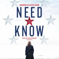 Cover image for Need to know [sound recording CD]