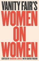 Cover image for VANITY FAIR'S WOMEN ON WOMEN