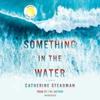 Cover image for Something in the water a novel