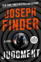 Cover image for Judgment [large print] : a novel