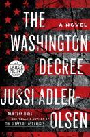 Cover image for The Washington decree a novel