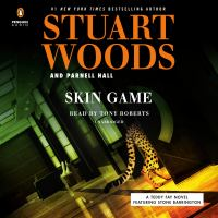 Cover image for Skin game. bk. 3 [sound recording CD] : a Teddy Fay novel featuring Stone Barrington