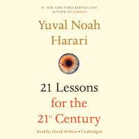 Cover image for 21 lessons for the 21st century [sound recording CD]