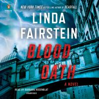 Cover image for Blood oath. bk. 20 [sound recording CD] : Alexandra Cooper series