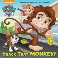 Cover image for Track that monkey! : PAW Patrol series