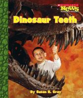 Cover image for Dinosaur teeth