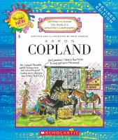 Cover image for Aaron Copland