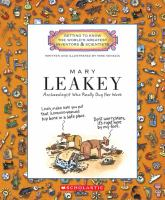 Cover image for Mary Leakey : archaeologist who really dug her work