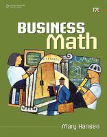 Imagen de portada para Business math