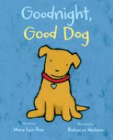 Cover image for Goodnight, good dog