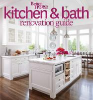 Cover image for Better homes and gardens kitchen and bath renovation guide