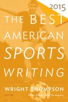 Imagen de portada para The best American sports writing 2015