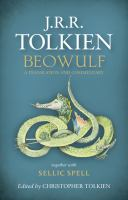 Cover image for Beowulf : a translation and commentary : together with Sellic spell