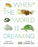 Cover image for When the world is dreaming