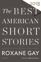 Cover image for The Best American short stories 2018
