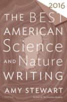 Cover image for The best American science and nature writing 2016