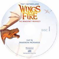 Imagen de portada para The dragonet prophecy. bk. 1 [sound recording CD] : Wings of fire series