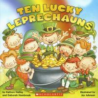 Cover image for Ten lucky leprechauns