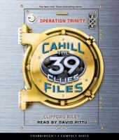 Cover image for Operation Trinity. bk. 1 39 clues. Cahill vs. Vespers series