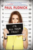 Cover image for It's all your fault