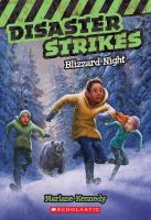 Cover image for Blizzard night. bk. 3 : Disaster strikes series