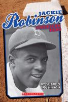 Cover image for Jackie Robinson : American hero