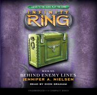 Cover image for Behind enemy lines Infinity Ring Series, Book 6.