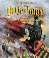 Cover image for Harry Potter and the sorcerer's stone. bk. 1 [Illustrated] : Harry Potter series