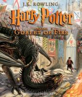 Cover image for Harry Potter and the goblet of fire. bk. 4 : Harry Potter series