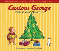 Cover image for Curious George Christmas carols