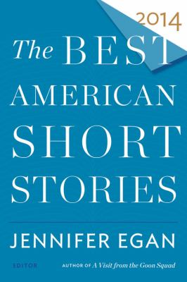 Cover image for The best American short stories 2014