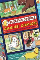 Cover image for Canine comics Martha speaks series