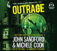Cover image for Outrage. bk. 2 [sound recording CD] : Singular menace series