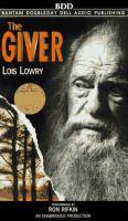 Imagen de portada para The giver. bk. 1 Giver quartet