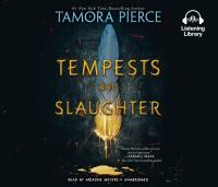 Cover image for Tempests and slaughter. bk. 1 [sound recording CD] : Numair chronicles series