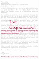 Cover image for Love, Greg & Lauren