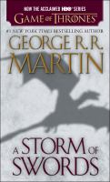 Cover image for A storm of swords. bk. 3 Song of ice and fire series