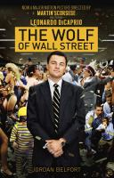 Cover image for The wolf of Wall Street