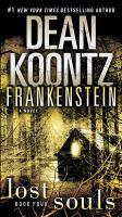 Cover image for Frankenstein lost souls : a novel
