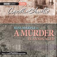 Cover image for A murder is announced. bk. 4 [sound recording CD] : Miss Marple series