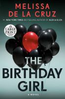 Cover image for The birthday girl a novel