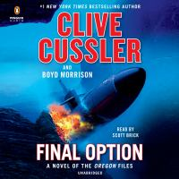 Cover image for Final option. bk. 14 [sound recording CD] : Oregon files series