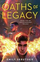 Cover image for Oaths of legacy. bk. 2 : Bloodright trilogy series