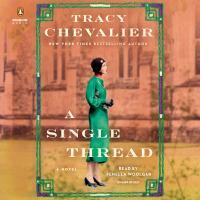 Cover image for A single thread A Novel.