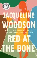 Cover image for Red at the bone