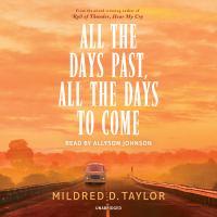 Imagen de portada para All the days past, all the days to come