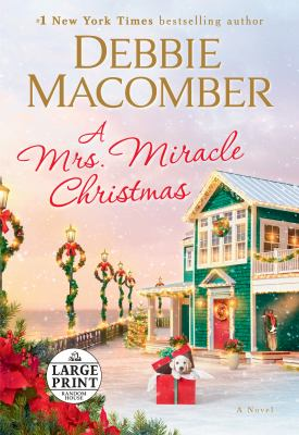 Cover image for A Mrs. Miracle Christmas [large print] / Mrs. Miracle series