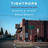 Cover image for Tightrope Americans reaching for hope.