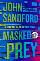 Cover image for Masked prey. bk. 30 Lucas Davenport series