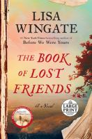 Cover image for The book of lost friends a novel
